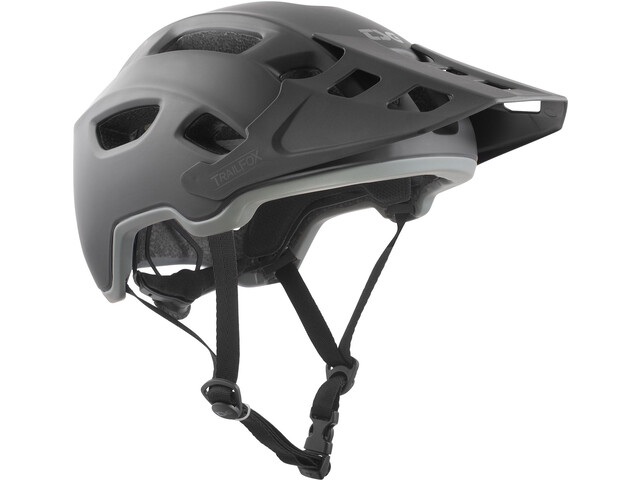 3b9ceddf04383 TSG Trailfox Solid Color casco per bici nero su Bikester